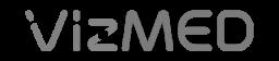 Logo Vizmed gris 256x56